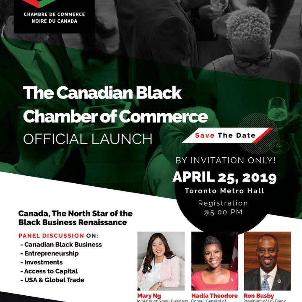 ECCA MAY 2019 -The Black Canadian Chamber of Commerce