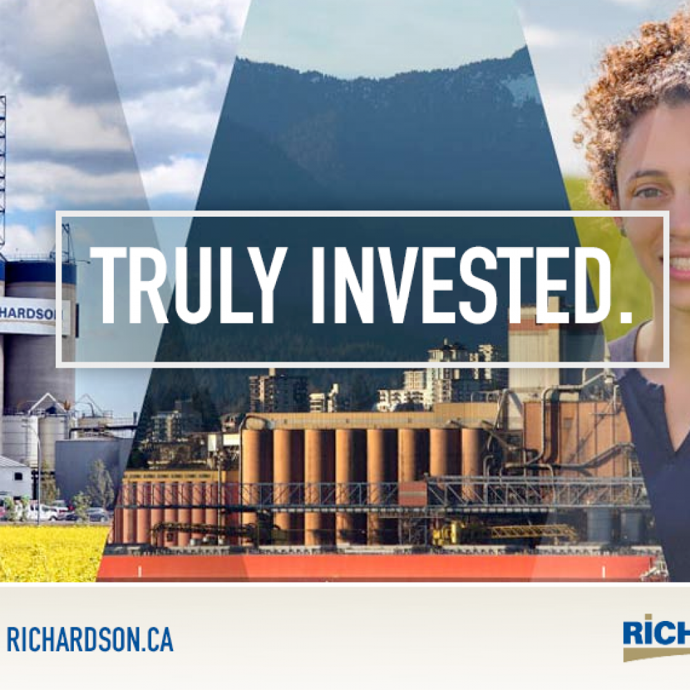 Based in Winnipeg-Richardson International is Canada's largest agribusiness