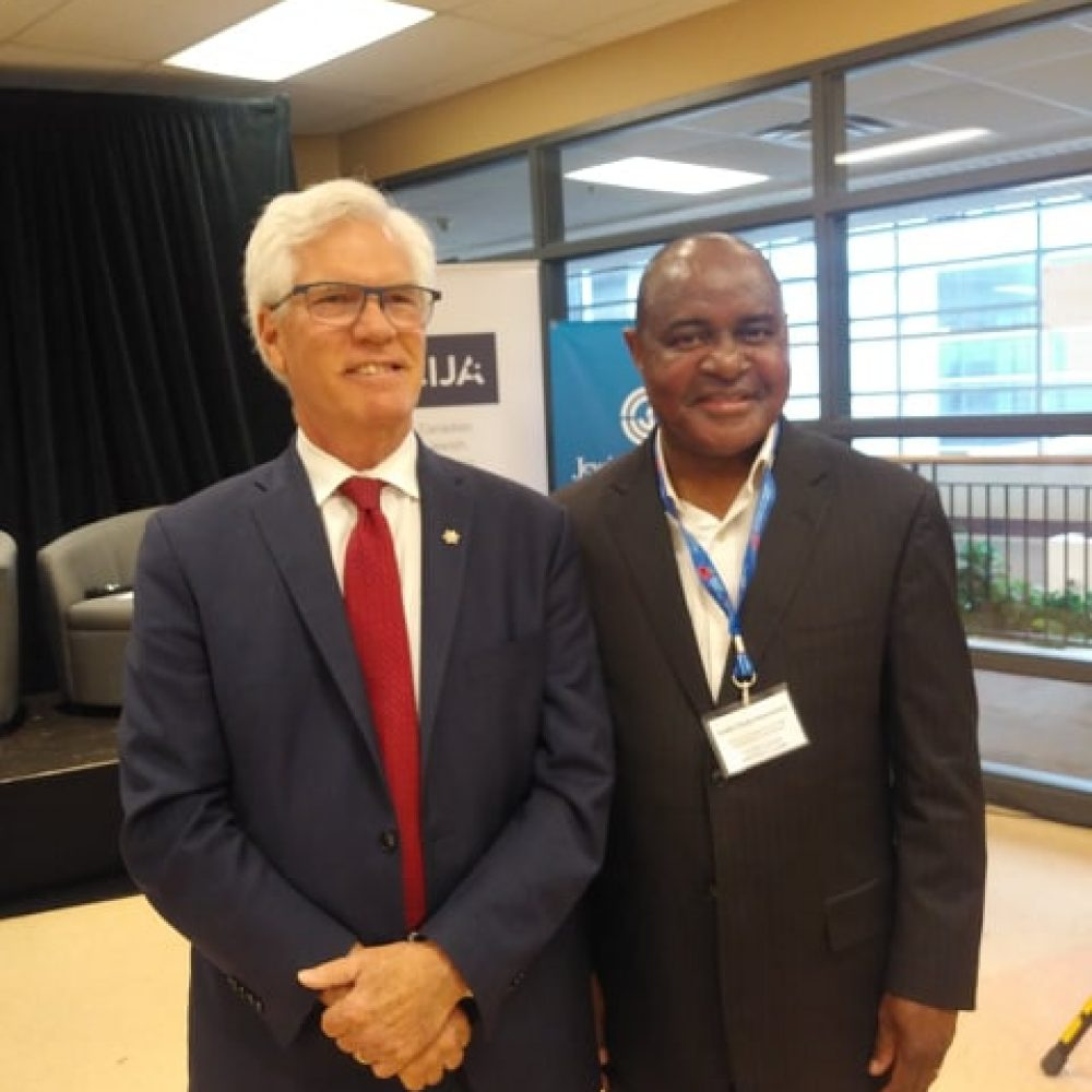 Canada-Israel Panel- Meeting with Minister Jim Carr in Winnipeg