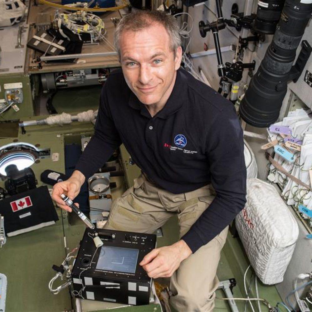 Canada-Retour de l'astronaute David Saint-Jacques le 24 Juin