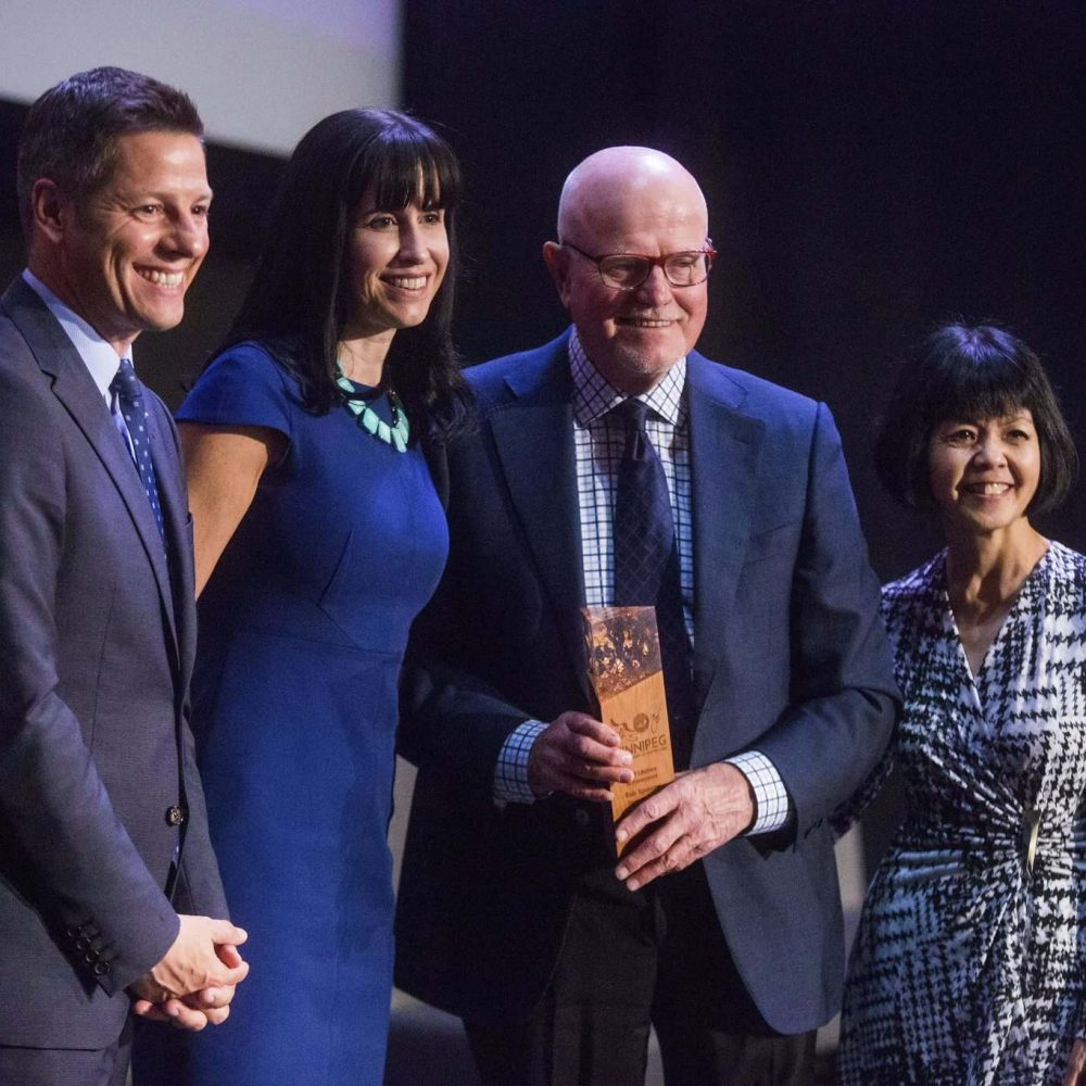 City of Winnipeg-Lifetime achievement honour for city hotel owner