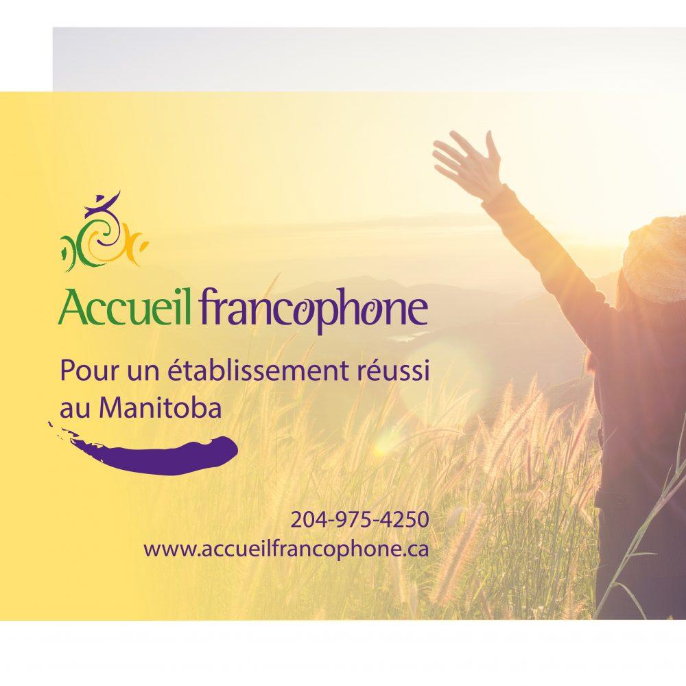 ECCA MAI 2019-Accueil  Francophone- Winnipeg, Manitoba