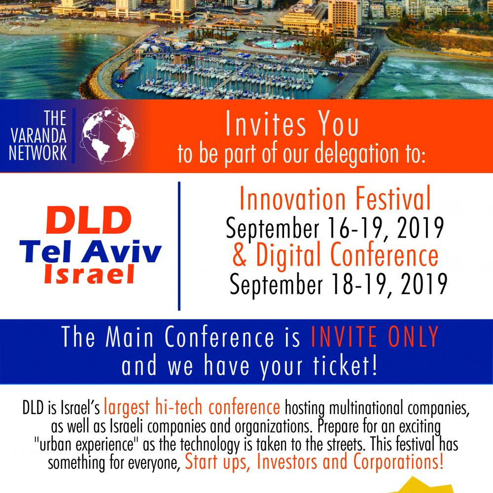 The Varanda Network to lead a Canadian delegation to Tel Aviv
