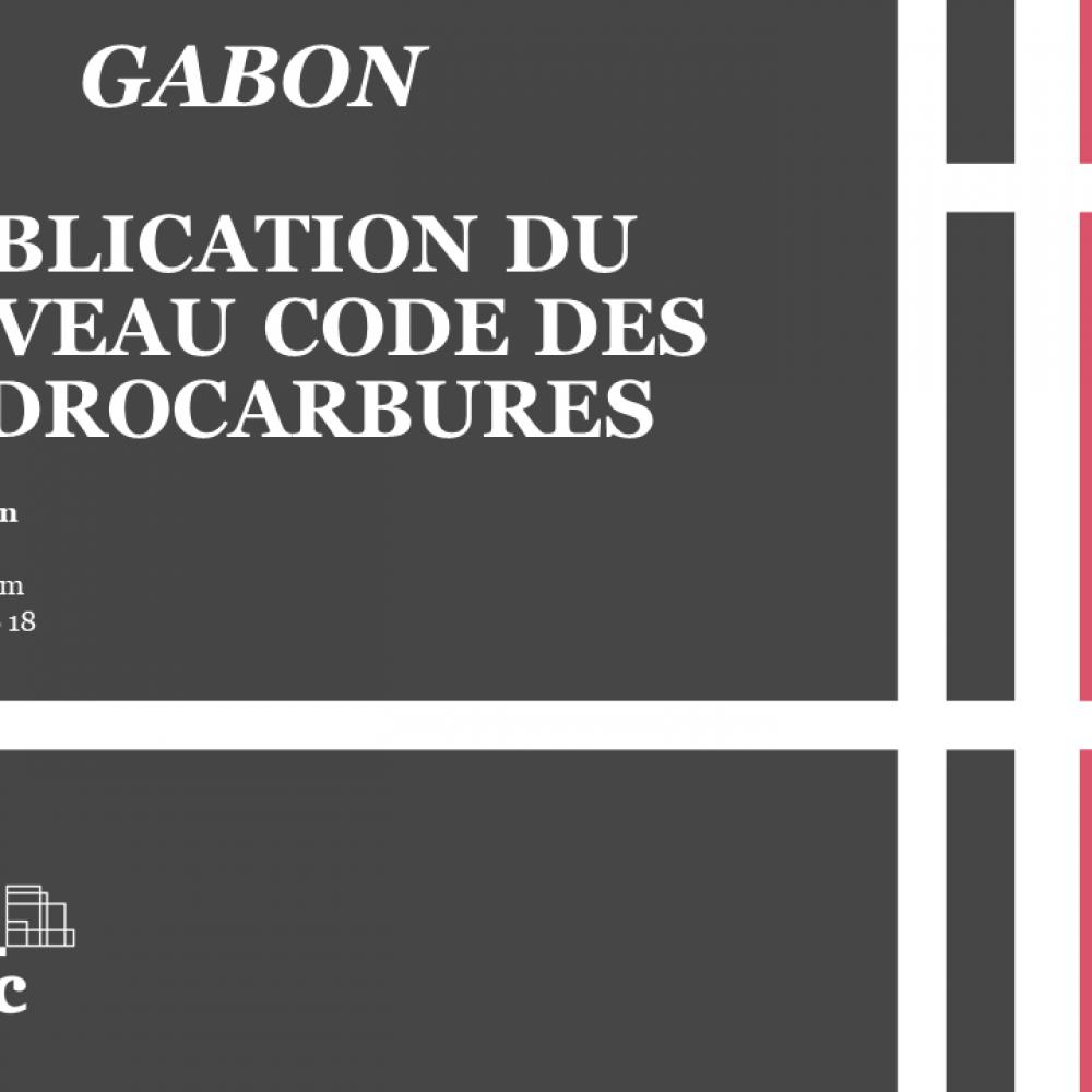 GABON HYDROCARBURES – La loi du 16 Juillet 2019 portant réglementation