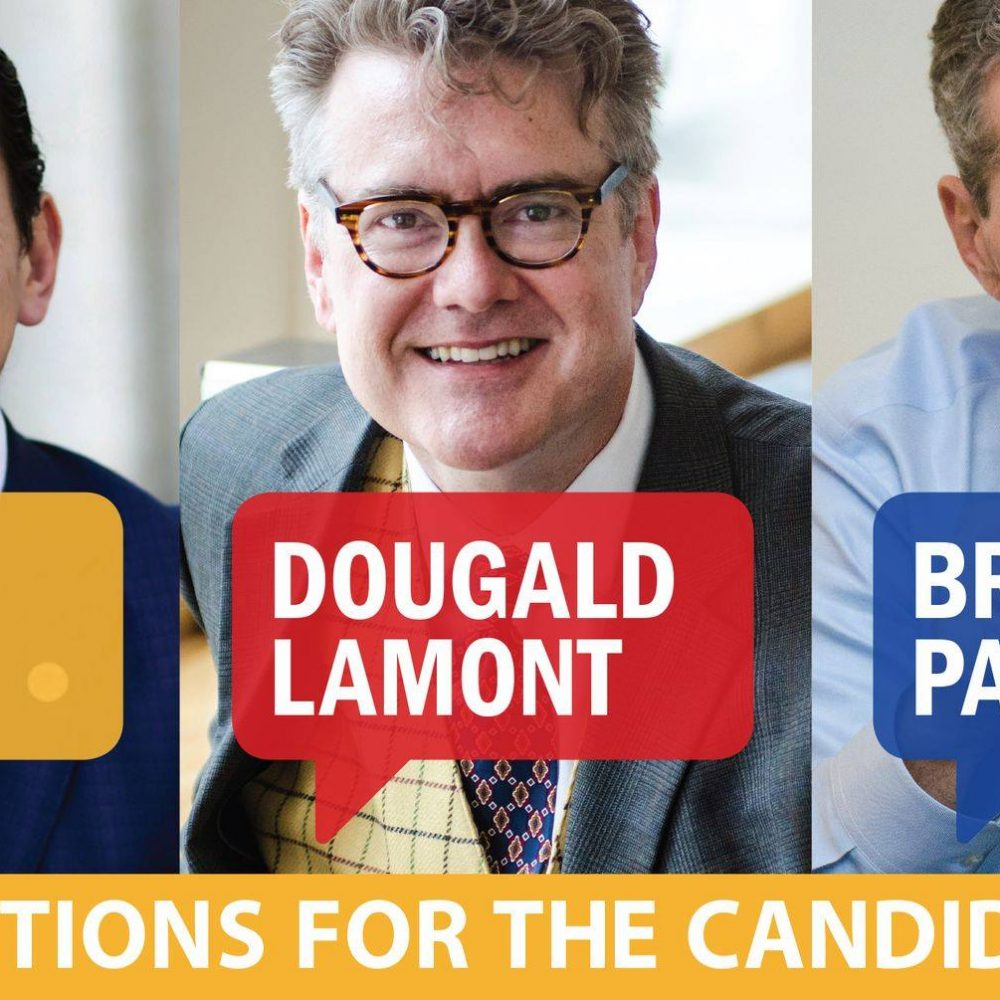 ELECTION MANITOBA – SEPT.10, 2019 – MTS / QUESTIONS FOR THE CANDIDATES