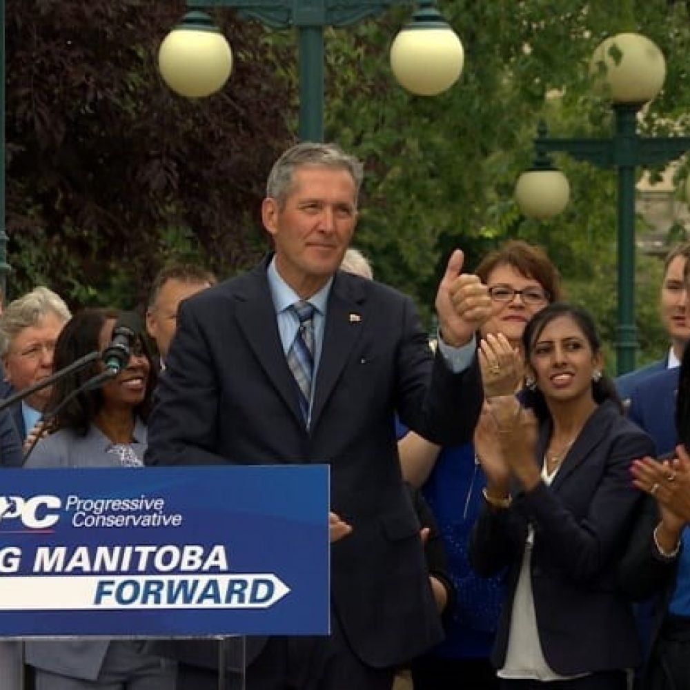 Manitoba election – The Premier, Brian Pallister, makes it official
