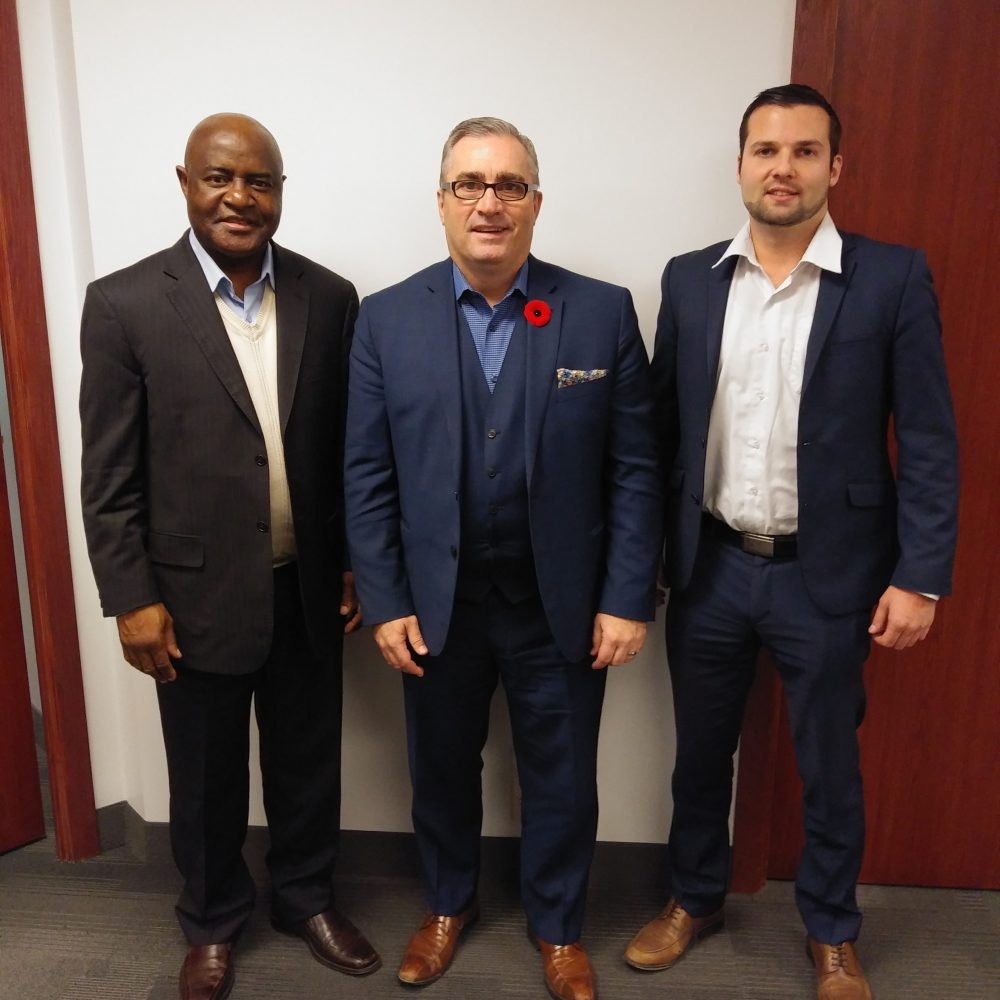 VISIT TO Chuck DAVIDSON – PRESIDENT & CEO OF MANITOBA CHAMBERS OF COMMERCE