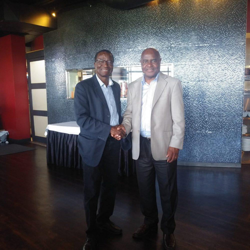 Rencontre / Consul du Sénégal au Manitoba – Prof. Ibrahima Diallo