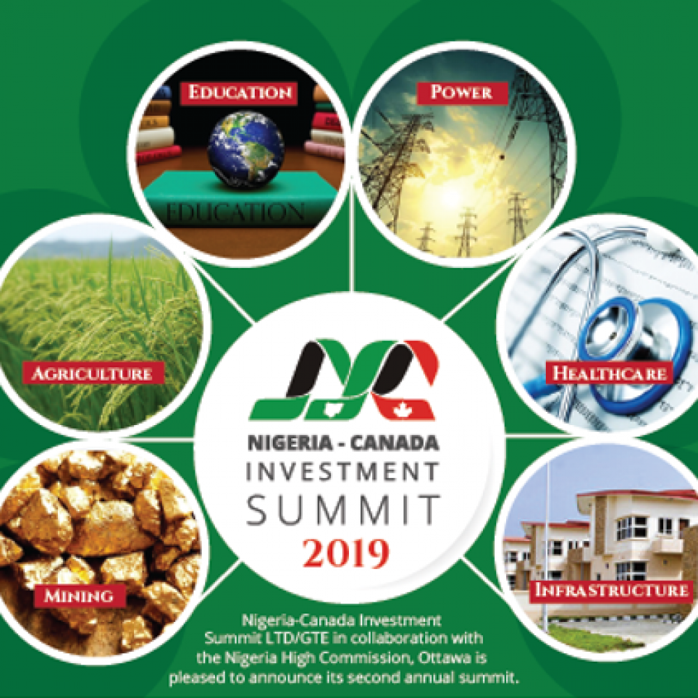 NIGERIA-CANADA INVESTMENT SUMMIT LTD/GTE WITH THE NIGERIA HIGH COMMISSION TO CANADA