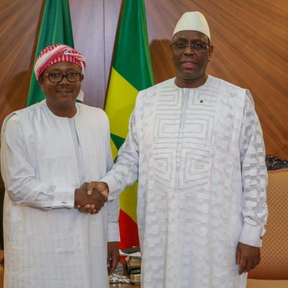 Guinee Bissau- Umaro Sissoco Embalo, le nouveau Président en visite au Sénégal