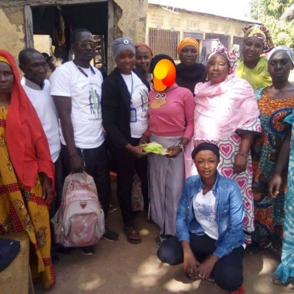 Benie Foundation Inc. Guinée en action