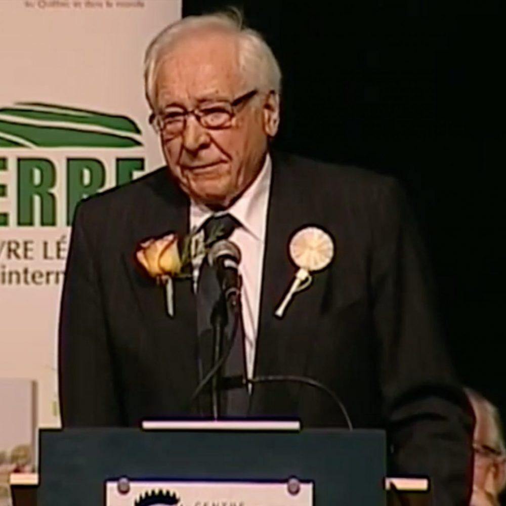 L'entrepreneur Albert Allain, père de Louis Allain, DG du CDEM, Manitoba, est décédé à l'âge de 92 ans.