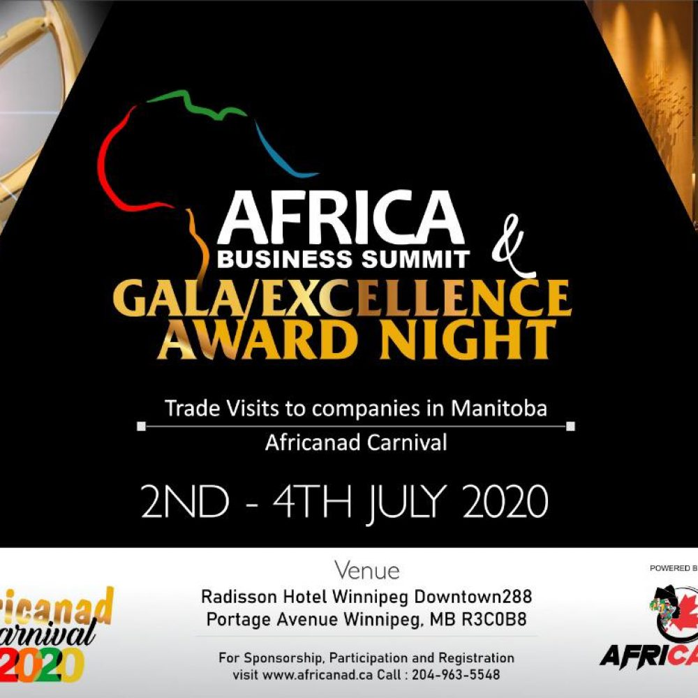 Winnipeg- africanad carnival event / 2-4 July 2020
