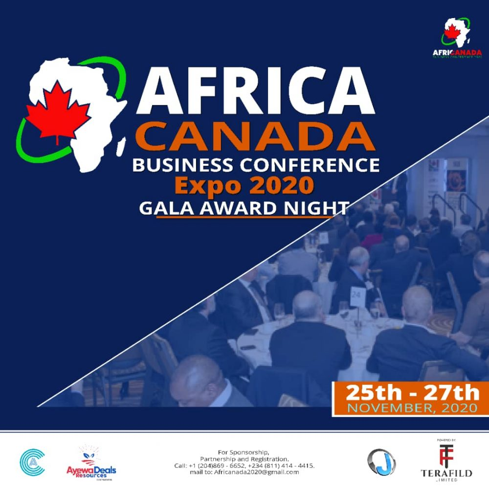 ABUJA 2020 – THE AFRICA CANADA BUSINESS CONFERENCE EXPO 1.0 EVENT BREAKDOWN: