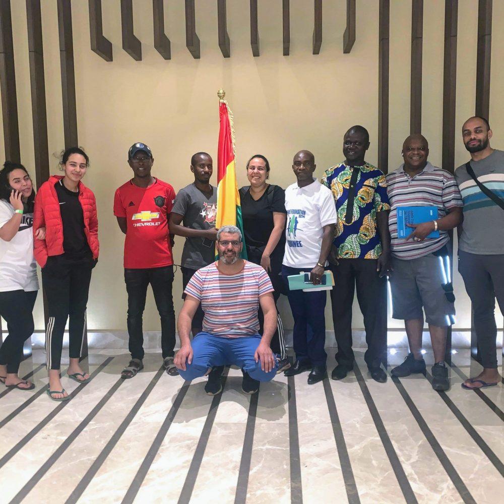 RAPPORT – Jenu'Espérance de Sénart de France et la fondation Bénie Fondation inc Guinée.
