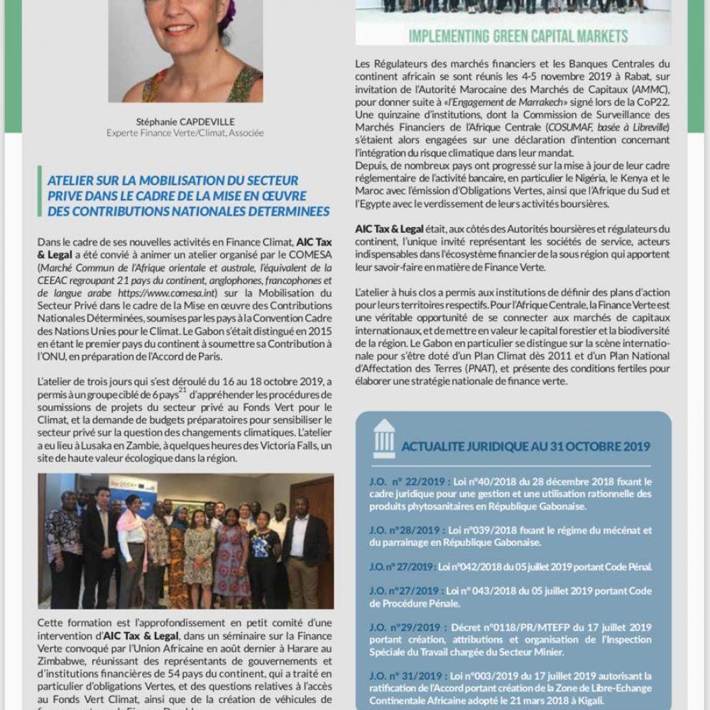 AIC TAX & LEGAL – Stéphanie Flora CAPDEVILLE, nouvel Associé