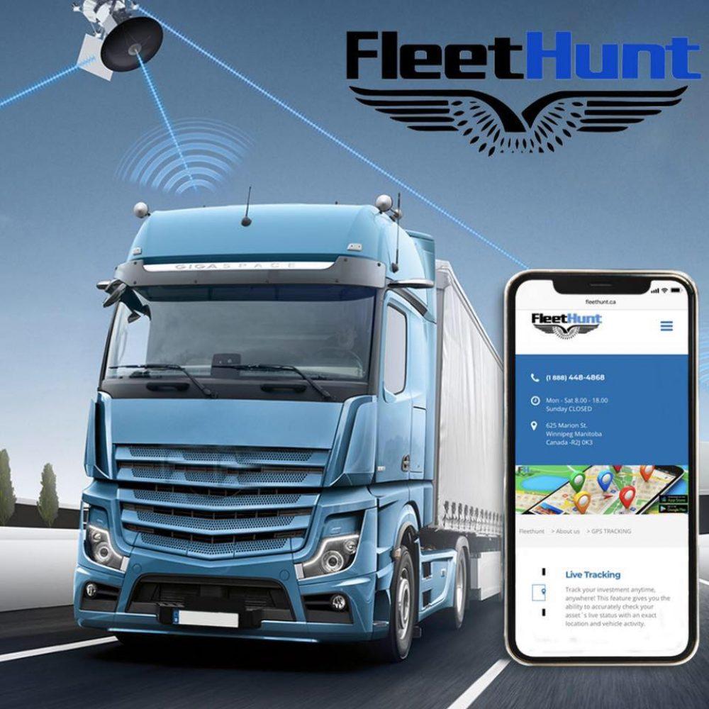 FleetHunt Technologies Canada – GPS, cellular/satellite …business