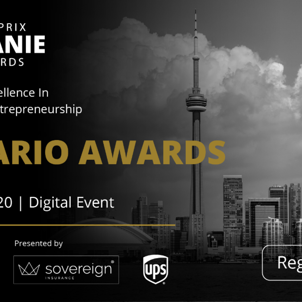 StartUp Canada – Join us for the first EVER CANIE Awards / On May 28th for the Ontario ceremony! !