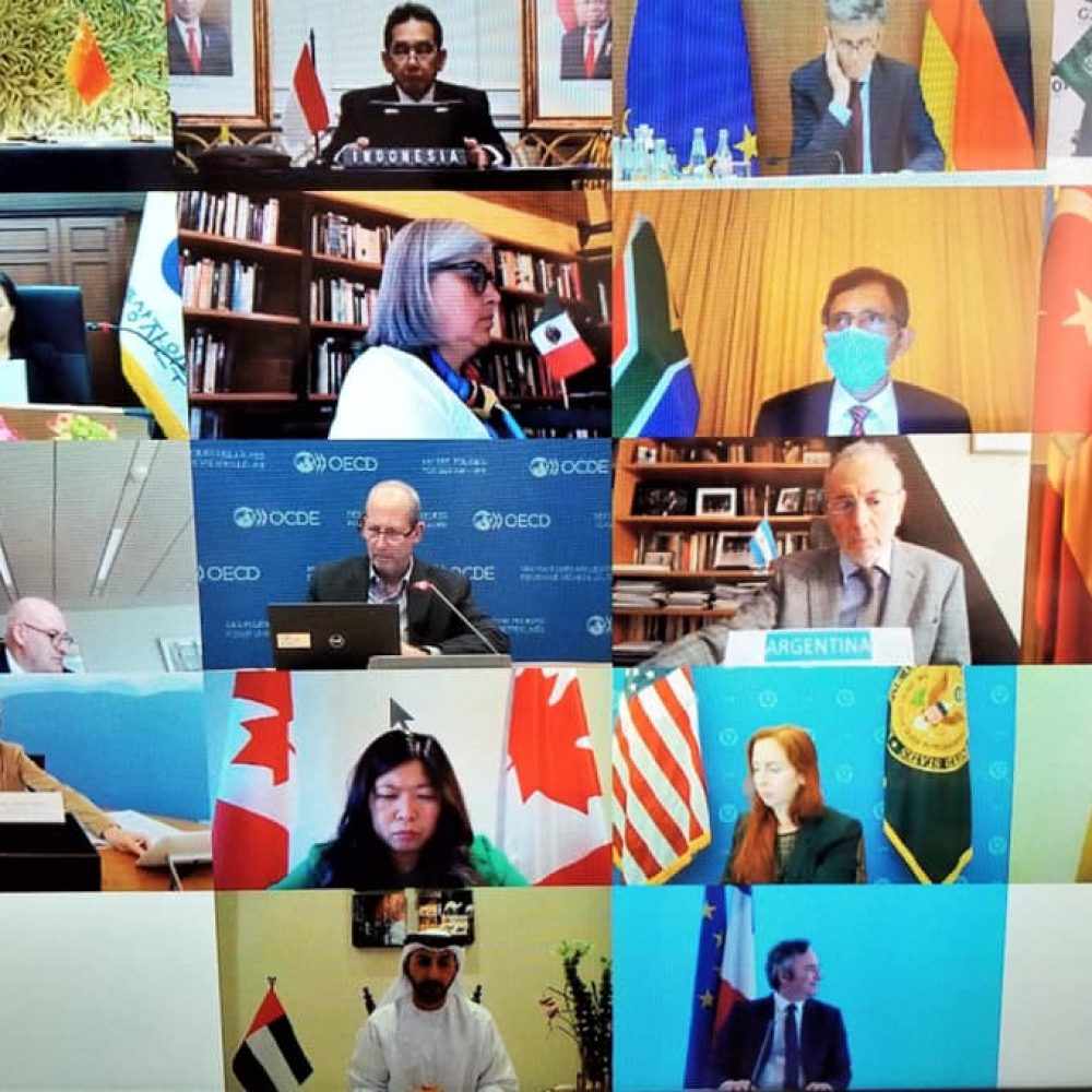 CANADA – MINISTER MARY NG' ACTIVITIES– THE JOAMA C. WEEKLY TUESDAY SHARING SUBJECT: virtually with G20 trade and investment ministers