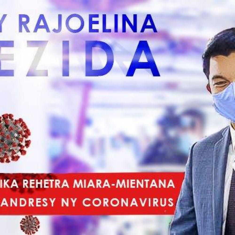 MADAGASCAR- S.E. Andry Rajoelina, annonce le remède : La Covid Organics, contre la Covid-19