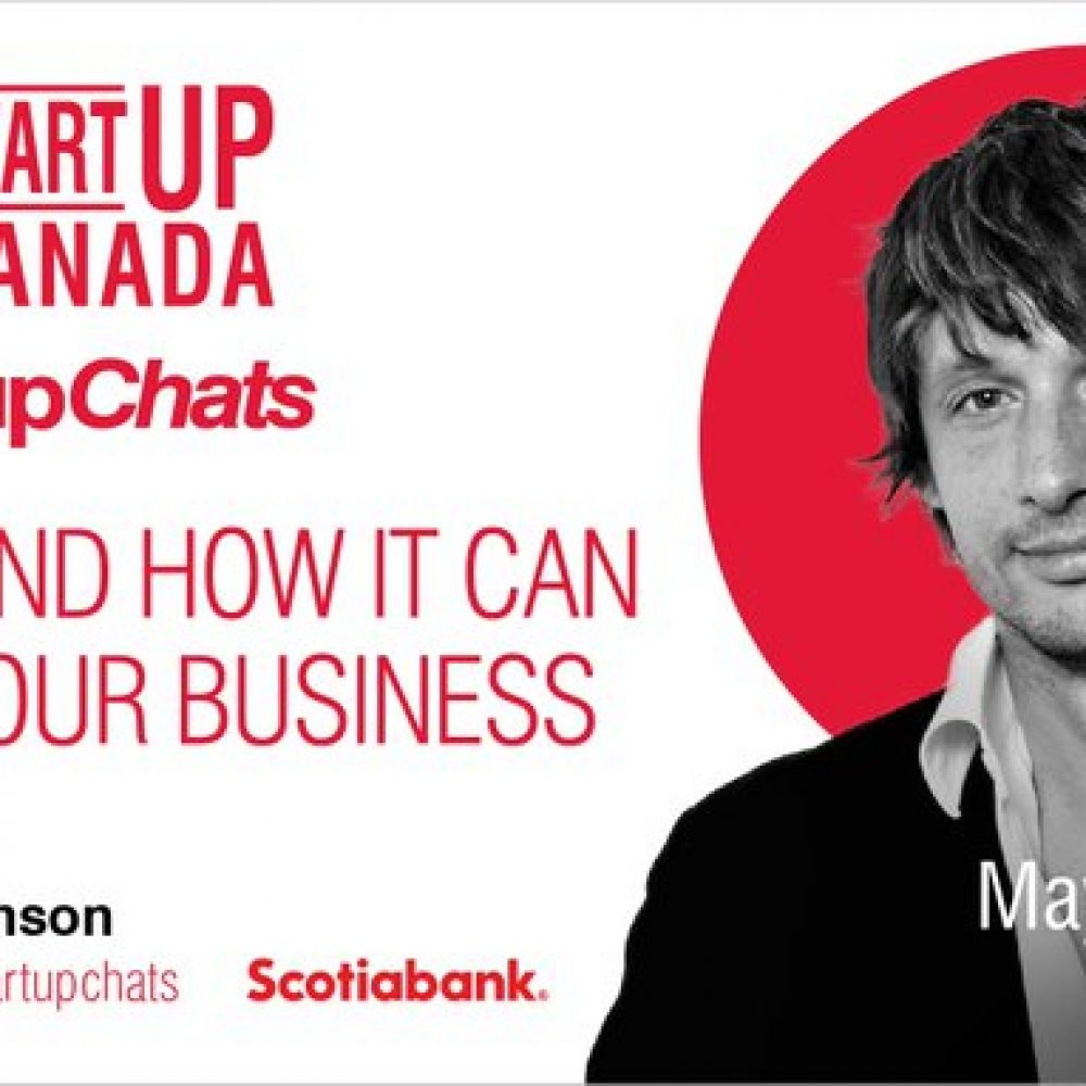 STARTUP CANADA – JOAMA CONSULTING IS HONORED TO TAKE PART TOMORROW, WEDNESDAY, IN THIS IMPORTANT CONVERSATION ON 'CEBA' / SCOTIABANK!