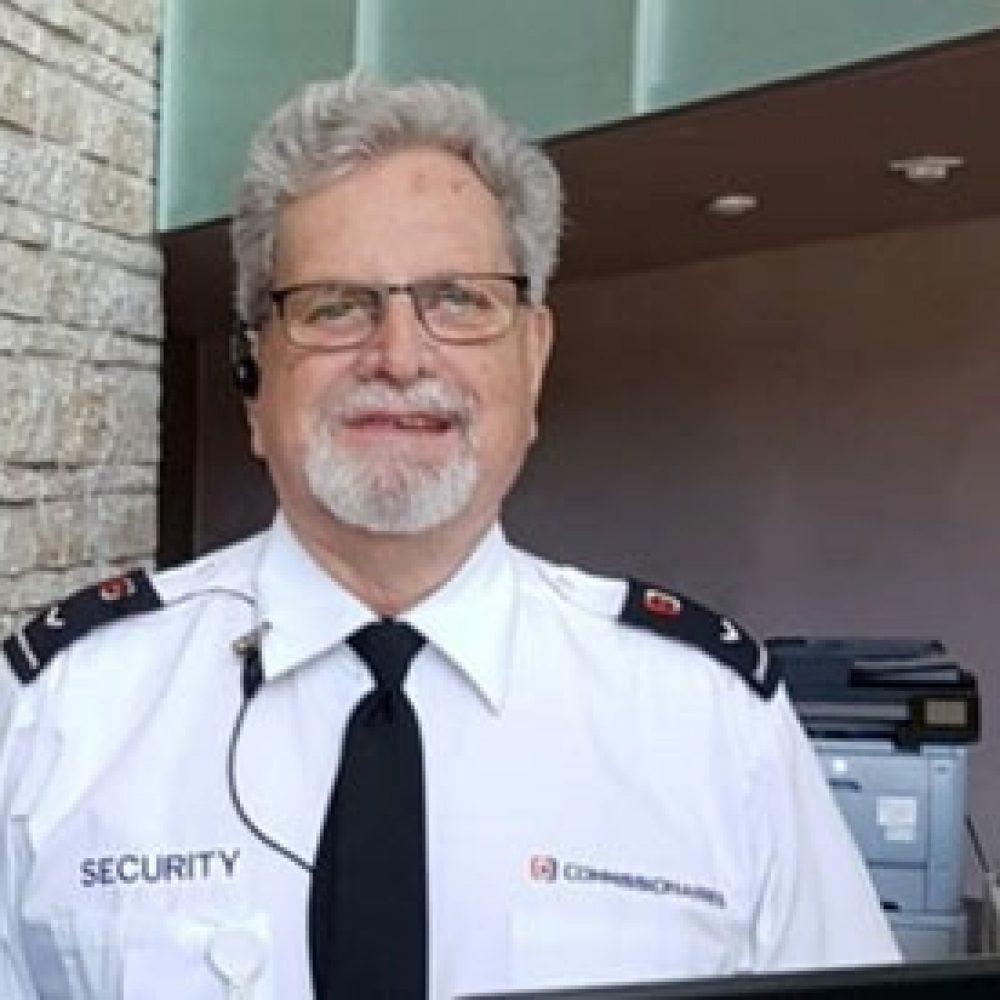 Winnipeg – Death of  the long-time CMHR Security Guard Jerry Lavallée.