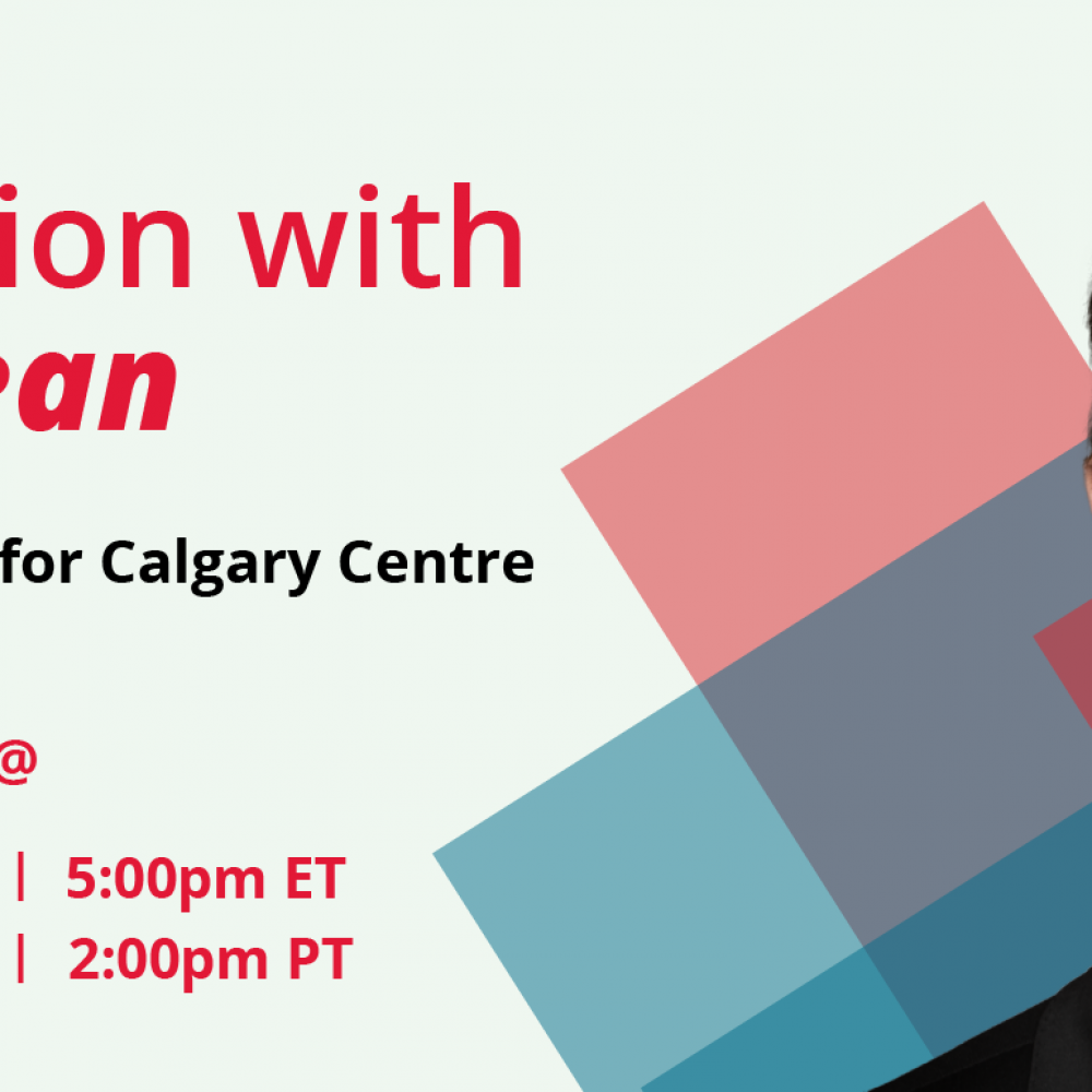 STARTUP CANADA – Conversation with Greg McLean, Member of Parliament for Calgary Centre