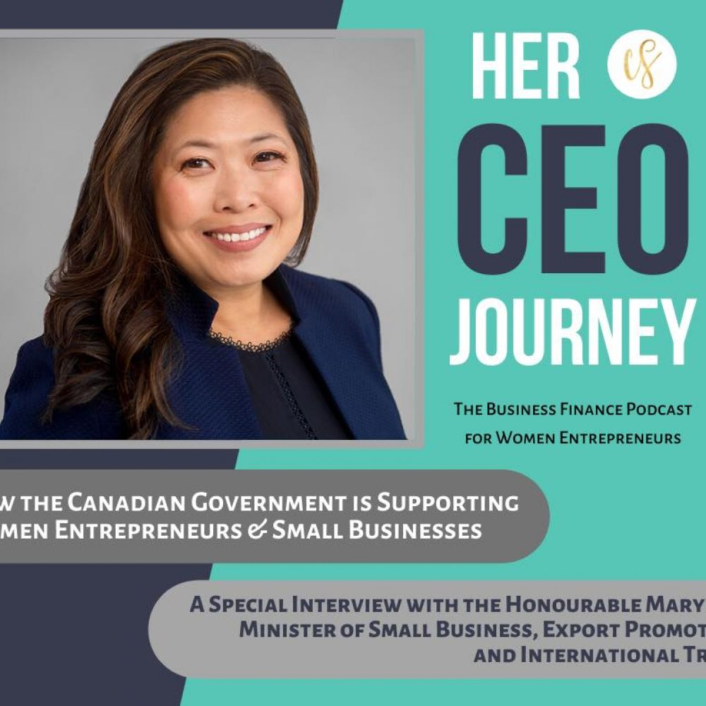 CANADA – MINISTER MARY NG' ACTIVITIES–THE JOAMA C. WEEKLY TUESDAY SHARING. SUBJECT: Christina Sjahli, host of Her CEO Journey, … women entrepreneurs