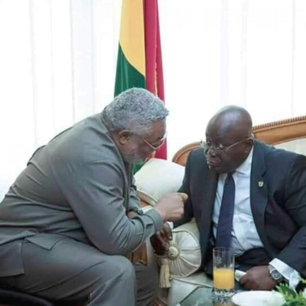 AFRIQUE (GHANA)- S.E. NANA ADDO DANKWA AKUFO, Président du Ghana, vu par Serge Roger Odicky Eyenga