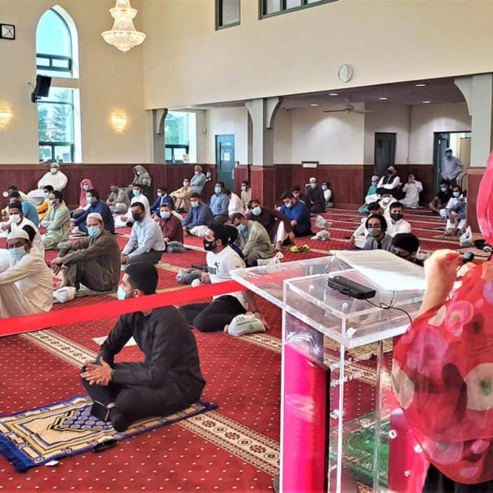 CANADA – MINISTER MARY NG' ACTIVITIES–THE JOAMA C. WEEKLY TUESDAY SHARING. SUBJECT: «… the tradition of joining the Markham-Thornhill Muslim …»