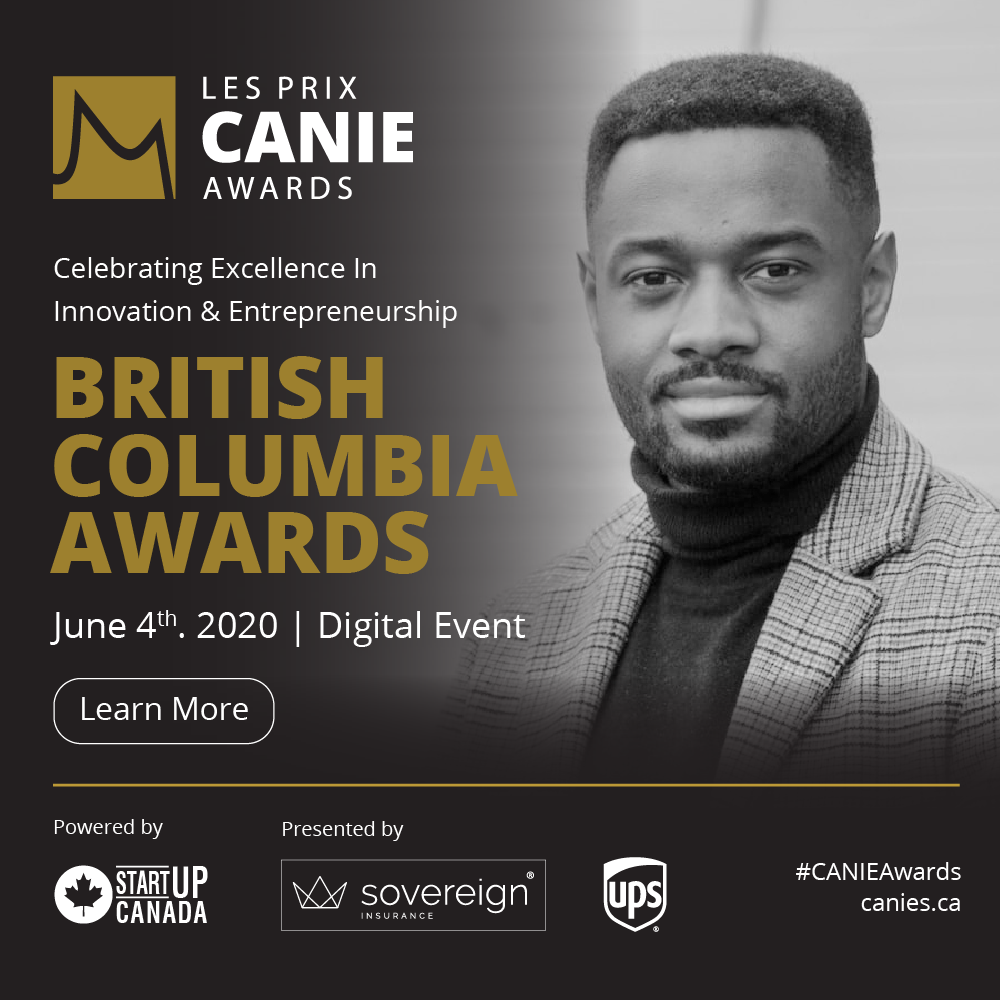 British Columbia CANIE Awards! Thursday, June 4th from 6:00 to 8:00 pm PST