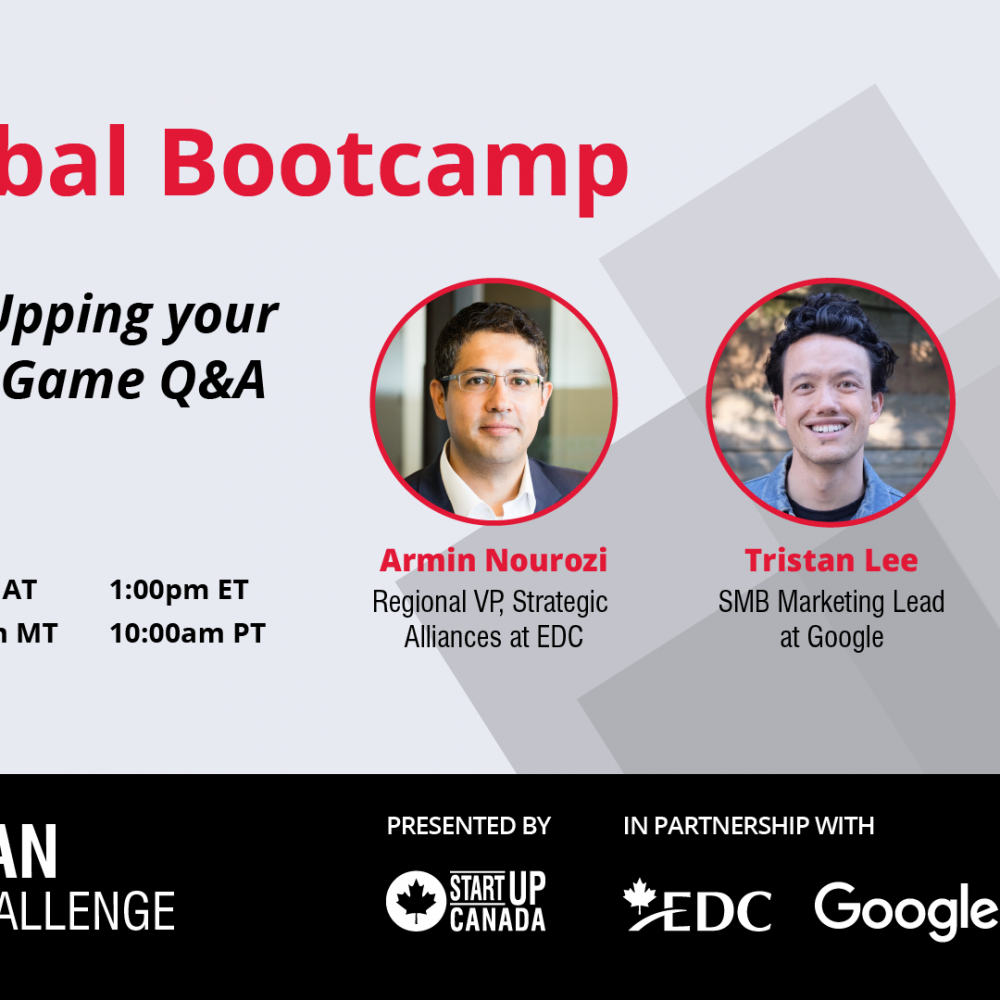 StartUp Canada – Get Digital: Upping your E-commerce Game Q&A – With EDC, Google and TCS