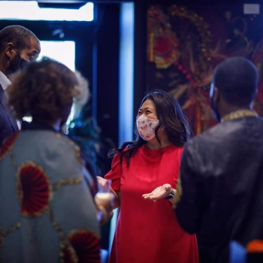 "CANADA – MINISTER MARY NG' ACTIVITIES–THE JOAMA C. WEEKLY TUESDAY SHARING. SUBJECT: ""..visiting African Soul Food along with my friend Greg Fergus"""