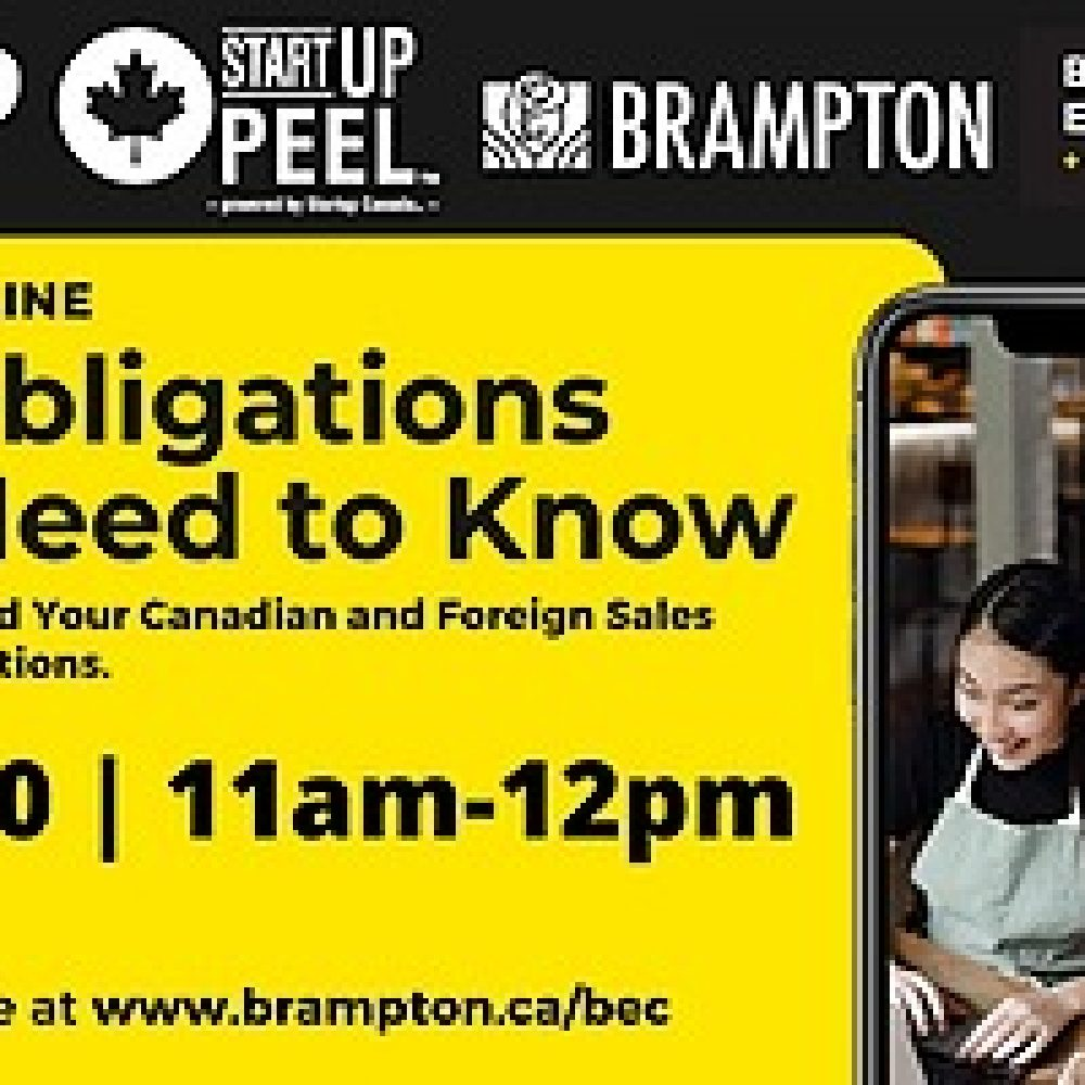 STARTUP CANADA – the Brampton Entrepreneur Centre and Coworking Space