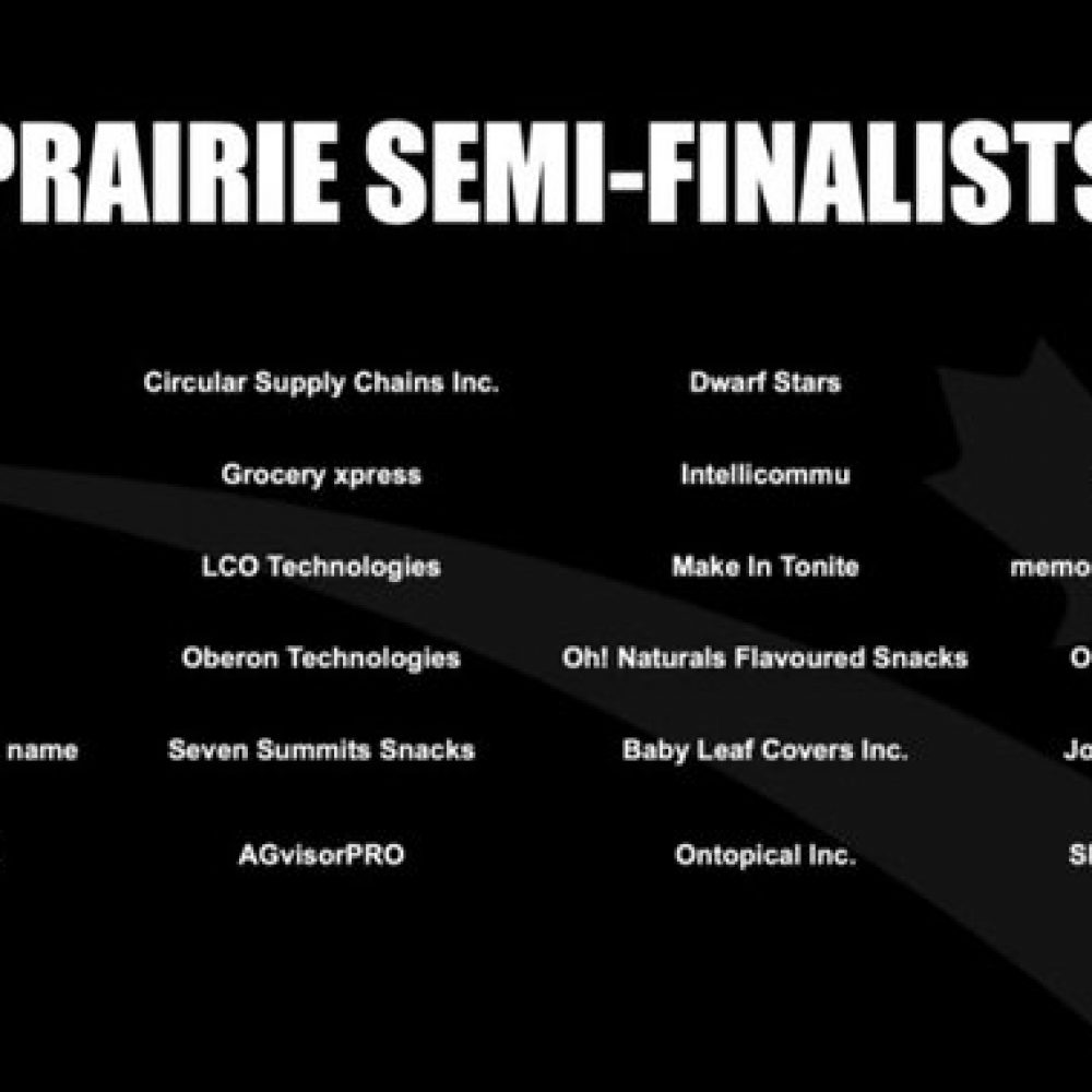 "Startup Canada – The #CXC2020 Prairie Region semi-finalists are:  ""…. @joamaconsulting ….!""; But congratulations to my colleagues, winners!"