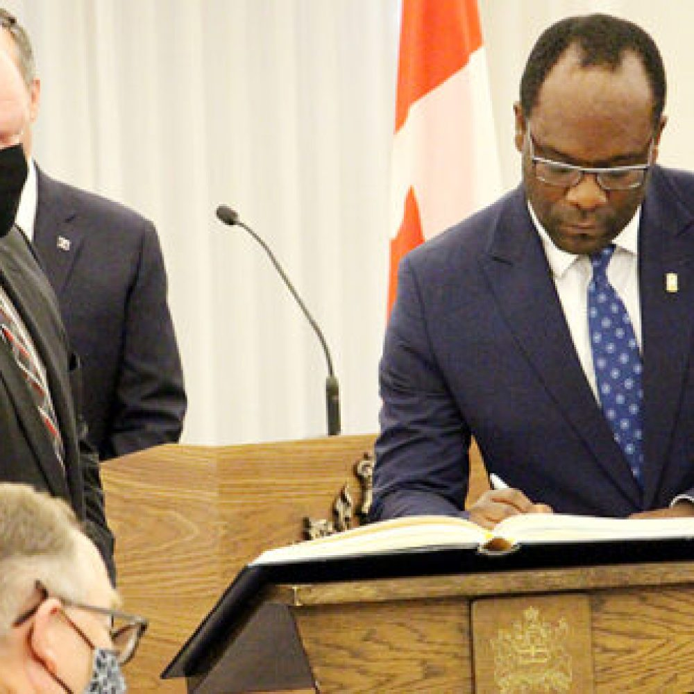 Alberta government (CA), Premier Jason Kenney-Canada's Black community excited over Nigerian's appointment as justice minister, K. Madu