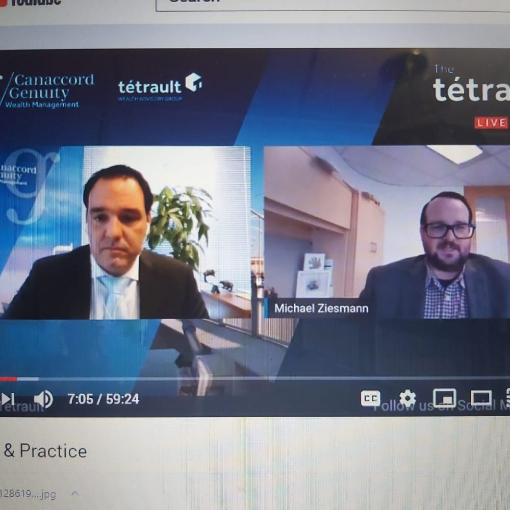 "The Weekly ONE Recap- ""LIVE on The Tétrault Show"" – May 21st 2020: Tax Law & Practice with Michael Ziesmann"