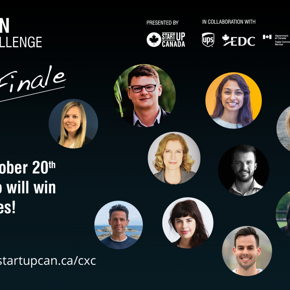 INFO STARTUP CANADA HEBDO: 2020 CXC Wildcards Announced! October 20th at 1pm EDT / You can access this event for free.