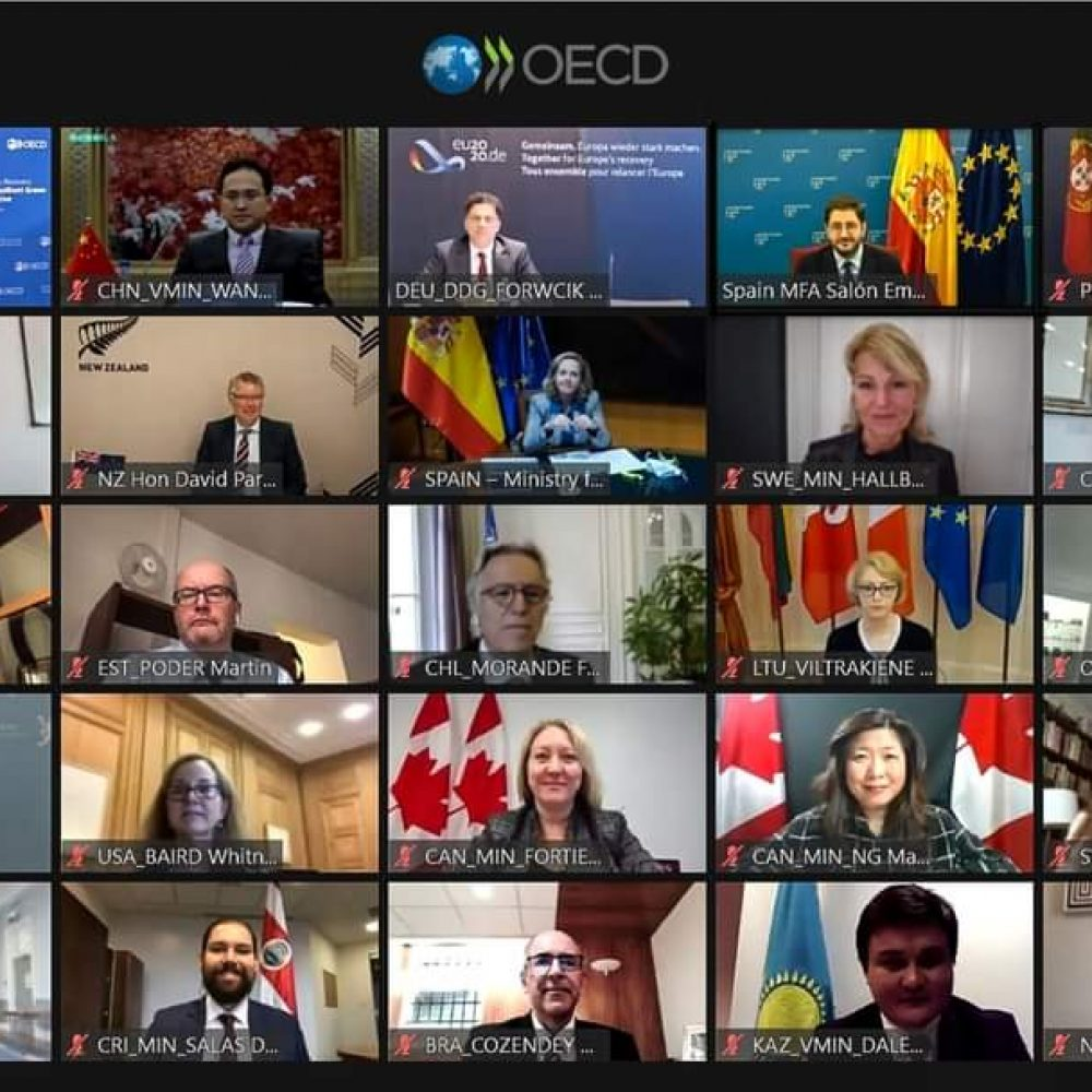 "CANADA – MINISTER MARY NG' ACTIVITIES–THE JOAMA C. WEEKLY TUESDAY SHARING. SUBJECT: ""..Minister Mona Fortier and I took part in the #OECDMinisterial.."""