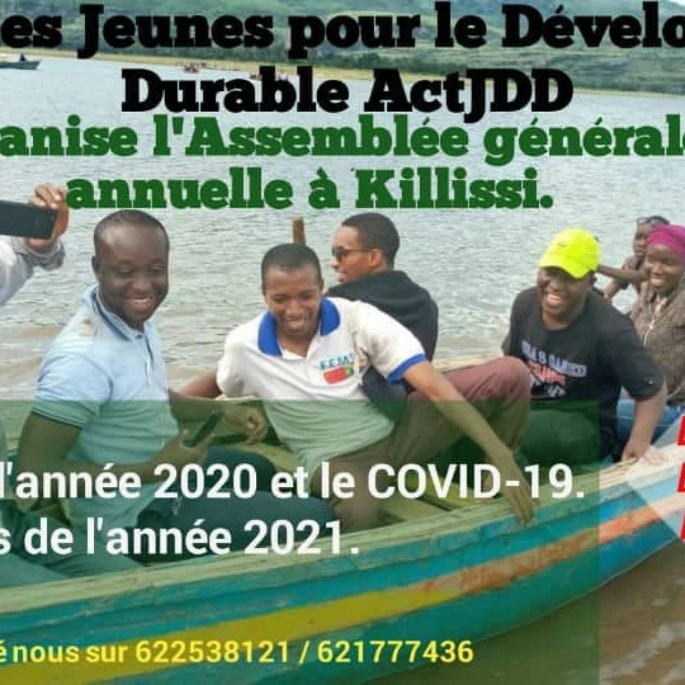 BURKINA FASO  – Jeunesse Engagée pour le Développement Durable (JEDD)- L'ASSEMBLEE GENERALE ANNUELLE/ Dim. 27 déc. 2020 à Killissi.