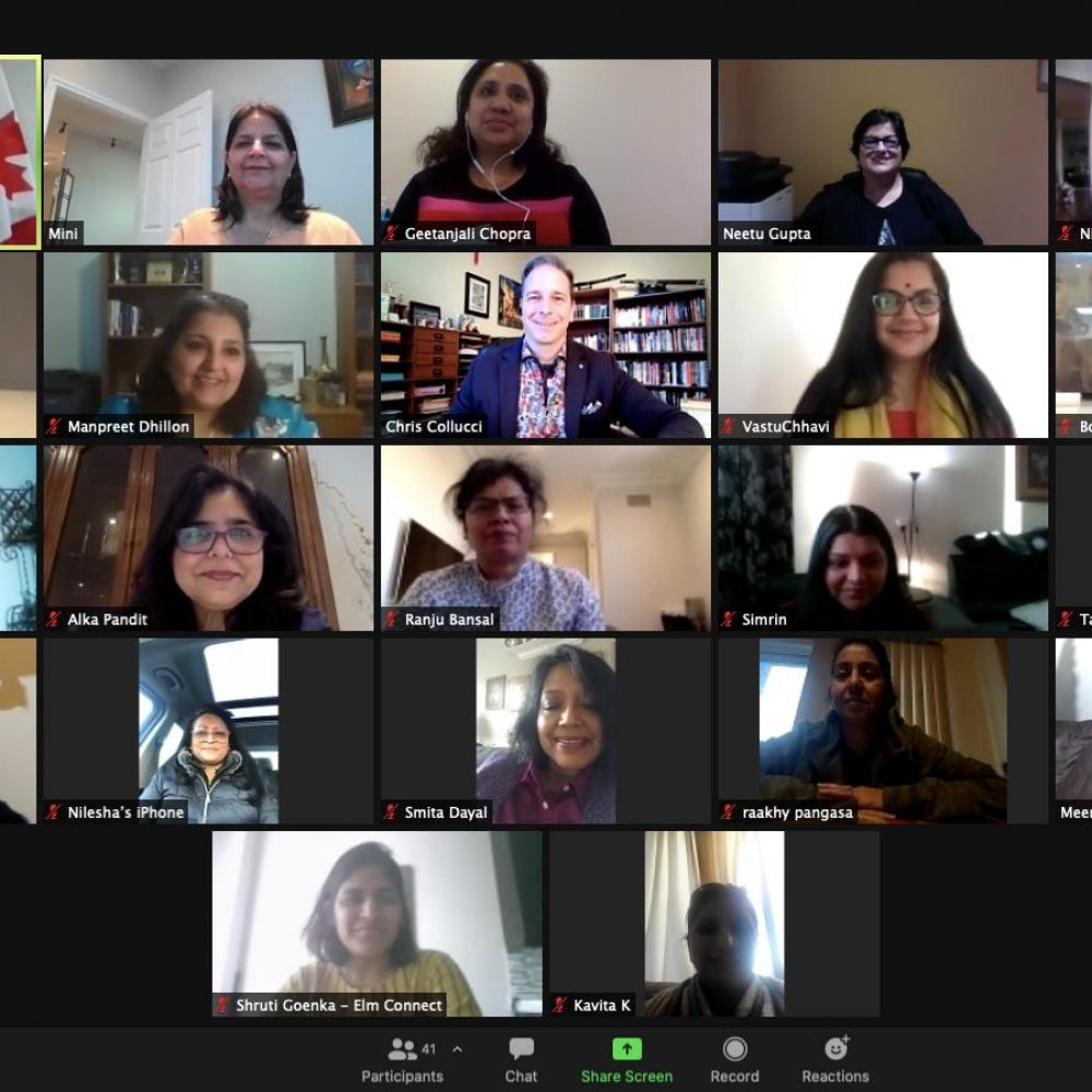 """CANADA – MINISTER MARY NG' ACTIVITIES–THE JOAMA C. WEEKLY TUESDAY SHARING. SUBJECT: """"..Thank you, Indian Women in Canada, for a great chat about ..!"""""""