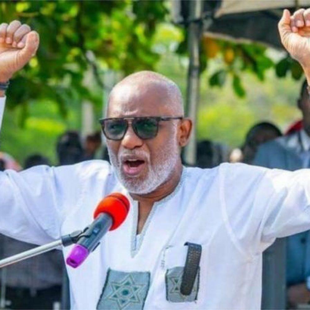 "ONDO STATE NEWS (NIGERIA) – A WEEKLY SHARING INFORMATION :""..Sunday Igboho: Governor Rotimi Akeredolu say Ondo State no dey part of ginger """