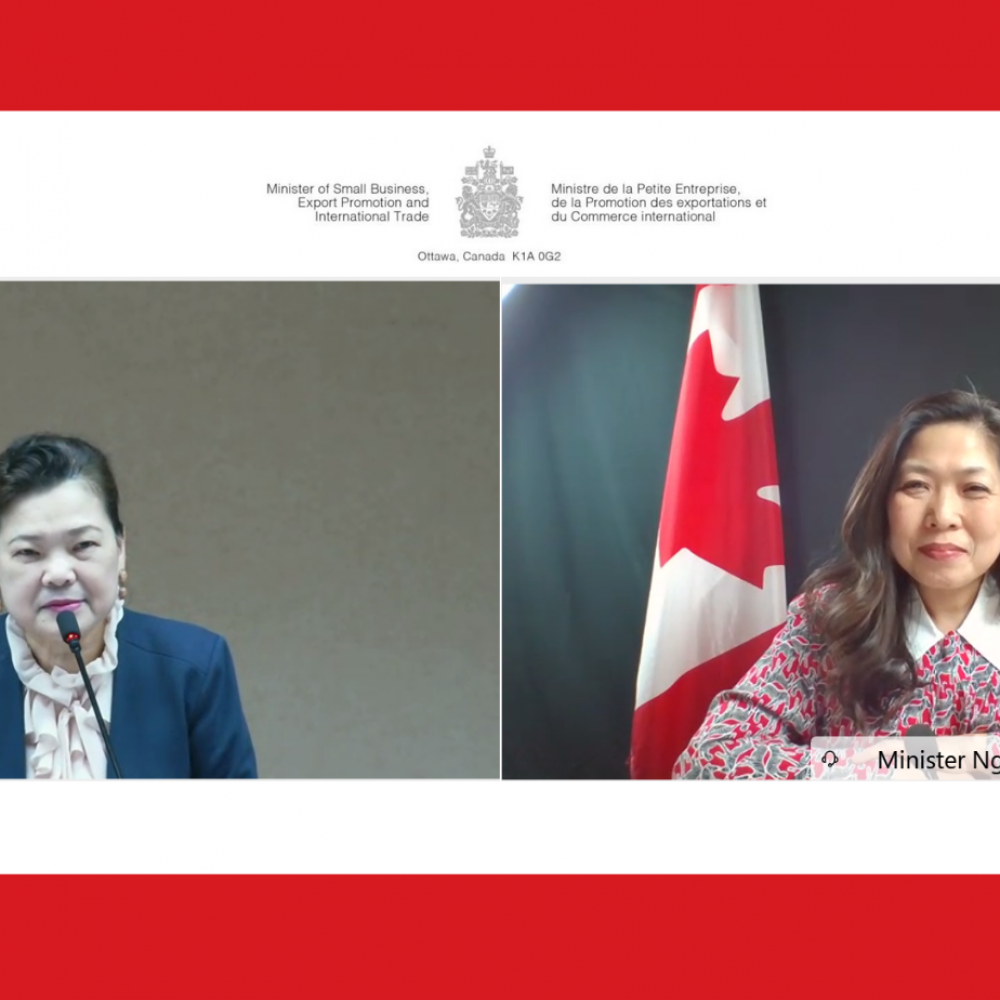 CANADA – INTERNATIONAL TRADE : MINISTER MARY NG/ ONE OF LAST SHARINGS: Excellent meeting with my Taiwanese counterpart Minister Wang Mei-Hua