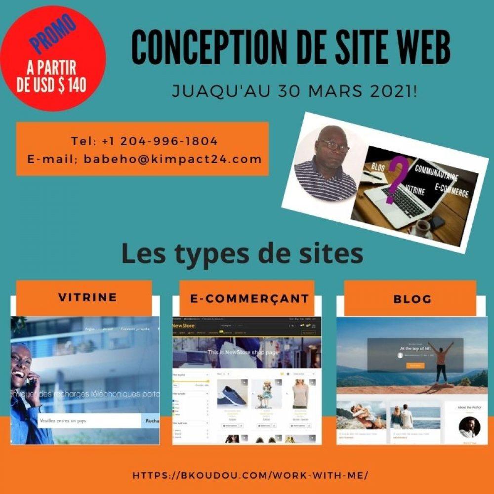 CANADA/COTE D'IVOIRE- JOAMA ZOOM HEBDO/ GUEST: KIMPACT24 (IMPORT/EXPORT & WEB DESIGN) /Koudou BABEHO, CEO (WPG)–Present.: Junella O.– Feb. 23, 2021