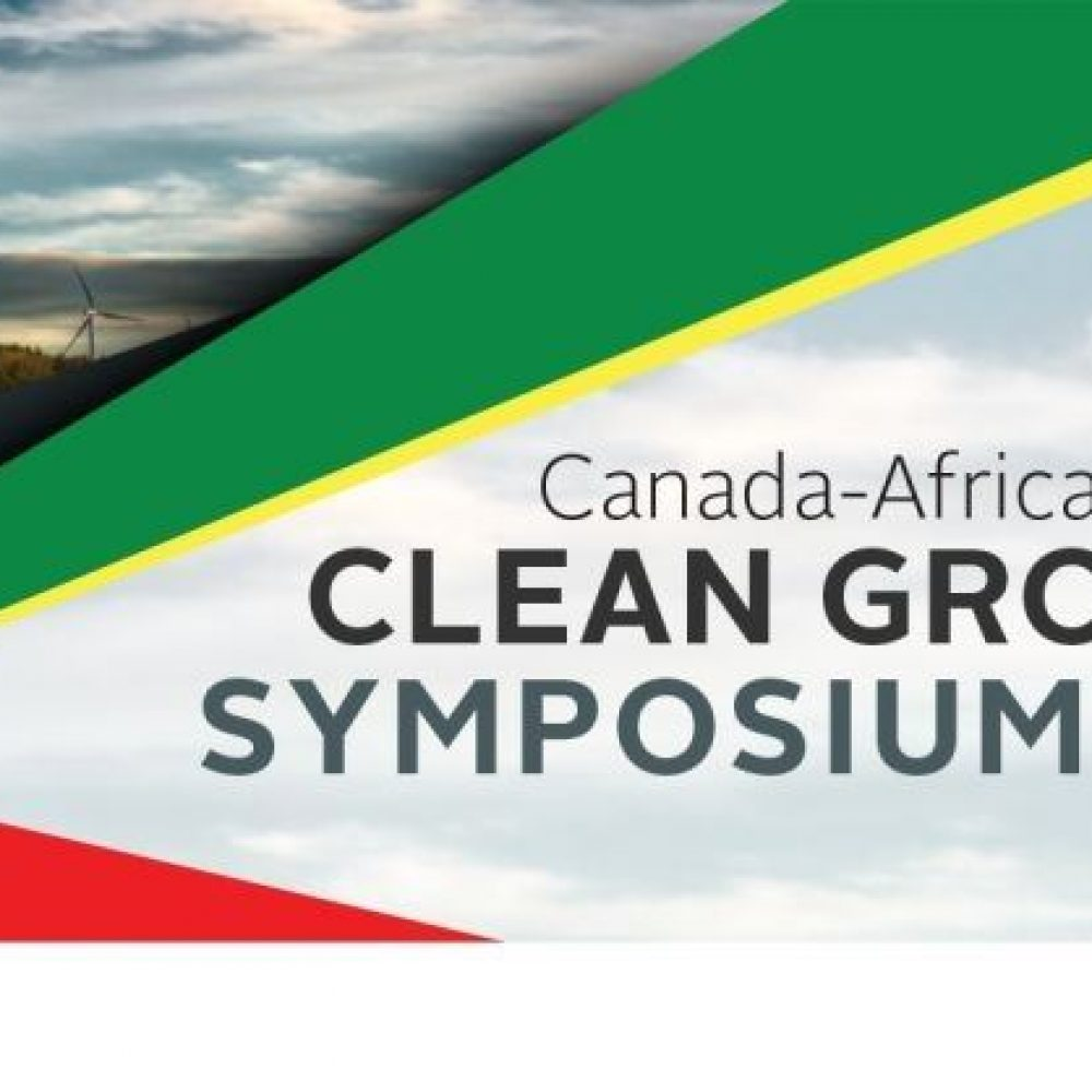 """CCAfrica- Justin Ondo-Assoumou: SPECIAL INVITATION FOR: / INVITATION SPÉCIALE POUR: """"Canada-Africa Clean Growth Symposium"""", hosted by the Governments of Canada, Ethiopia, and Senegal – March 15-17, 2020"""