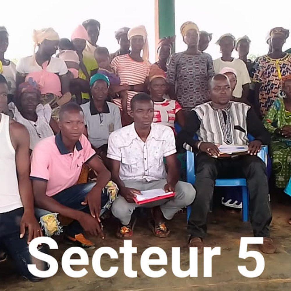"""BURKINA FASO/ JEDD (ONG) EN ACTIVITES HEBDOMADAIRES : """"Installations des bases de la JEDD: √Commune de BOUSSE: Secteur 1 et 5.  √ Commune de NIOU: MOUNI et SONGOTENGA"""""""