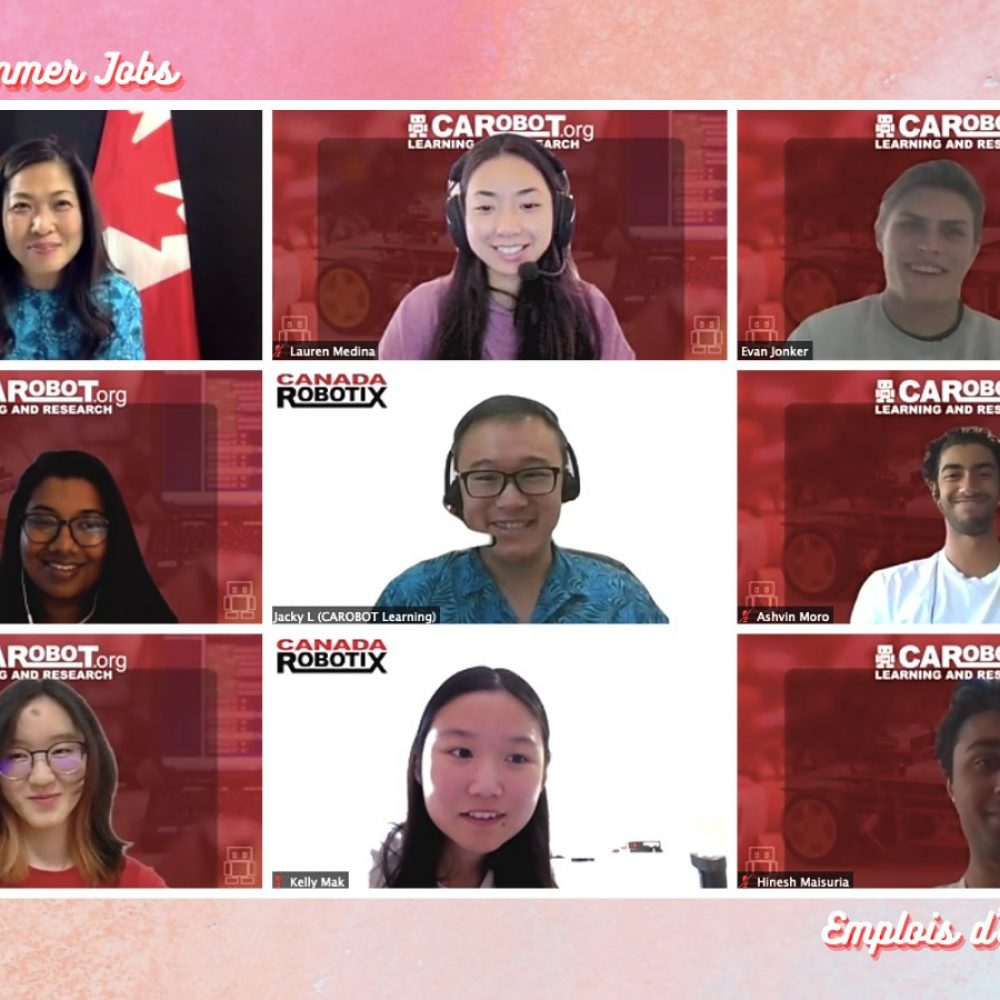 """CANADA–INTERNATIONAL TRADE (SBEPIT): MINISTER MARY NG / ONE OF SHARINGS : """"Last Friday, I visited #CanadaSummerJobs students, and the CAROBOT Learning and Research Organization President, Jacky Lau…"""""""
