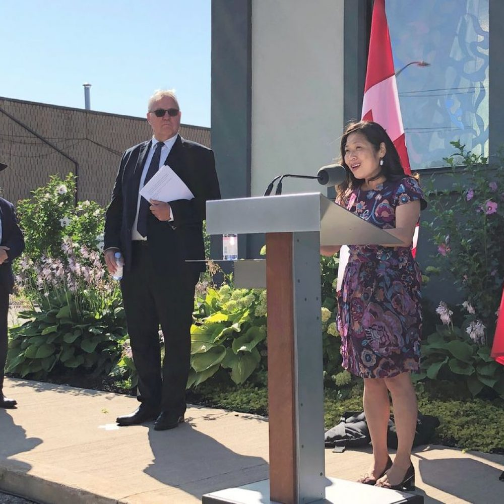 """CANADA–INTERNATIONAL TRADE (SBEPIT): MINISTER MARY NG / ONE OF SHARINGS : """"Today, I joined Minister Bill Blair & Rabbi Plotkin at the Chabad Lubavitch of Markham to announce that our government is taking action with $6…"""""""