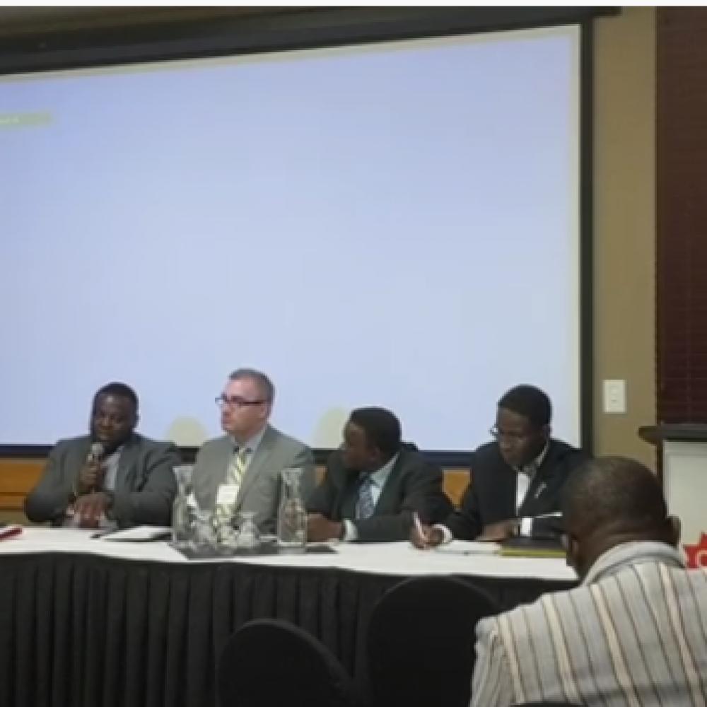 """GUEST: EDC CANADA (Flash), BY: Willy Fogang, Senior Account Manager, Manitoba, at Canad Inns Destination Centre Windsor Park in Winnipeg/ 2nd FORUM ECCA-MB, MAY 2019 (REBROACAST) ON """"CA/AF-J.Z.H.S.""""- JULY 8, 2021"""
