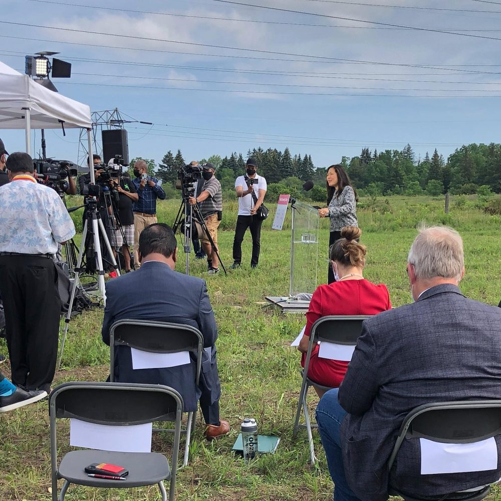 """CANADA–INTERNATIONAL TRADE (SBEPIT): MINISTER MARY NG / ONE OF SHARINGS : """"Thrilled to join my colleagues to announce our government is investing over $14 million to build a Tamil Community Centre in Scarborough… """""""